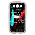 Twenty One Pilots Stay Alive Song Lyrics Quotes Samsung Galaxy Grand DUOS I9082 Case (White)