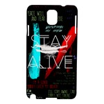 Twenty One Pilots Stay Alive Song Lyrics Quotes Samsung Galaxy Note 3 N9005 Hardshell Case