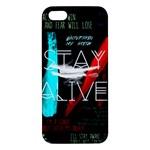 Twenty One Pilots Stay Alive Song Lyrics Quotes iPhone 5S/ SE Premium Hardshell Case