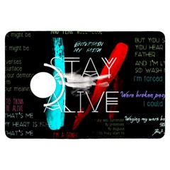 Twenty One Pilots Stay Alive Song Lyrics Quotes Kindle Fire Hdx Flip 360 Case by Onesevenart