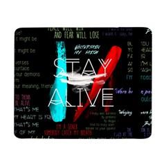 Twenty One Pilots Stay Alive Song Lyrics Quotes Samsung Galaxy Tab Pro 8 4  Flip Case by Onesevenart
