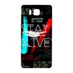Twenty One Pilots Stay Alive Song Lyrics Quotes Samsung Galaxy Alpha Hardshell Back Case