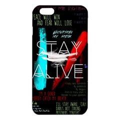 Twenty One Pilots Stay Alive Song Lyrics Quotes Iphone 6 Plus/6s Plus Tpu Case by Onesevenart