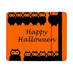 Happy Halloween - owls Samsung Galaxy Tab Pro 8.4  Flip Case by Valentinaart