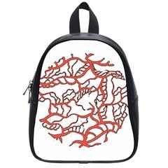 Twenty One Pilots Tear In My Heart Soysauce Remix School Bags (small)  by Onesevenart