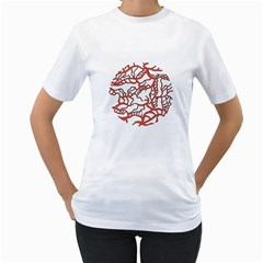Twenty One Pilots Tear In My Heart Soysauce Remix Women s T Shirt (white)  by Onesevenart
