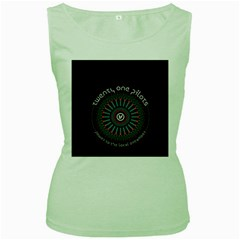 Twenty One Pilots Women s Green Tank Top by Onesevenart