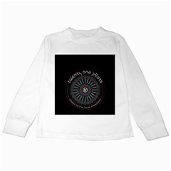 Twenty One Pilots Kids Long Sleeve T Shirts by Onesevenart