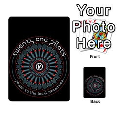 Twenty One Pilots Multi Purpose Cards (rectangle)  by Onesevenart