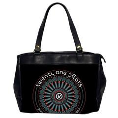 Twenty One Pilots Office Handbags (2 Sides)  by Onesevenart