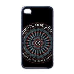 Twenty One Pilots Apple Iphone 4 Case (black) by Onesevenart