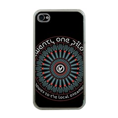 Twenty One Pilots Apple Iphone 4 Case (clear) by Onesevenart