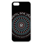 Twenty One Pilots Apple Seamless iPhone 5 Case (Clear)