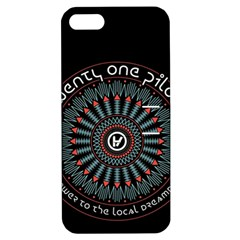 Twenty One Pilots Apple Iphone 5 Hardshell Case With Stand by Onesevenart