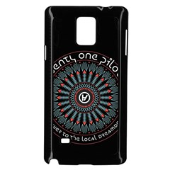 Twenty One Pilots Samsung Galaxy Note 4 Case (black) by Onesevenart