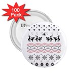 Ugly Christmas Humping 2.25  Buttons (100 pack)