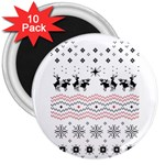 Ugly Christmas Humping 3  Magnets (10 pack)