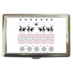 Ugly Christmas Humping Cigarette Money Cases by Onesevenart