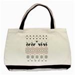 Ugly Christmas Humping Basic Tote Bag