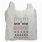 Ugly Christmas Humping Recycle Bag (Two Side)