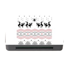 Ugly Christmas Humping Memory Card Reader With Cf by Onesevenart