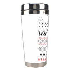 Ugly Christmas Humping Stainless Steel Travel Tumblers by Onesevenart