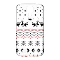 Ugly Christmas Humping Samsung Galaxy S4 Classic Hardshell Case (pc+silicone) by Onesevenart