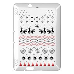 Ugly Christmas Humping Kindle Fire Hdx Hardshell Case by Onesevenart