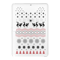 Ugly Christmas Humping Samsung Galaxy Tab Pro 12 2 Hardshell Case by Onesevenart