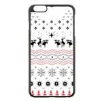 Ugly Christmas Humping Apple iPhone 6 Plus/6S Plus Black Enamel Case