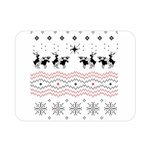 Ugly Christmas Humping Double Sided Flano Blanket (Mini)