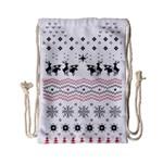 Ugly Christmas Humping Drawstring Bag (Small)