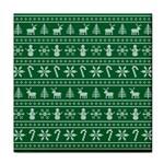Ugly Christmas Tile Coasters