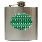 Ugly Christmas Hip Flask (6 oz)