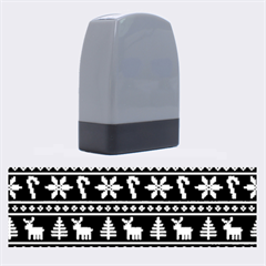 Ugly Christmas Name Stamps by Onesevenart