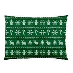 Ugly Christmas Pillow Case (two Sides) by Onesevenart