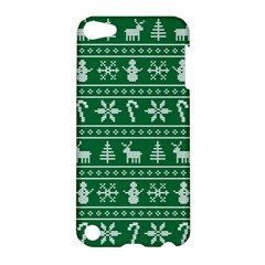 Ugly Christmas Apple Ipod Touch 5 Hardshell Case by Onesevenart