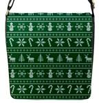 Ugly Christmas Flap Messenger Bag (S)