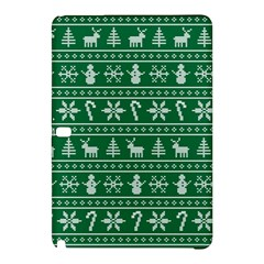 Ugly Christmas Samsung Galaxy Tab Pro 12 2 Hardshell Case by Onesevenart