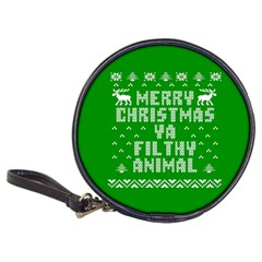 Ugly Christmas Ya Filthy Animal Classic 20 Cd Wallets by Onesevenart