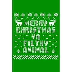 Ugly Christmas Ya Filthy Animal 5 5  X 8 5  Notebooks by Onesevenart