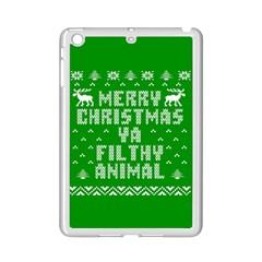 Ugly Christmas Ya Filthy Animal Ipad Mini 2 Enamel Coated Cases by Onesevenart