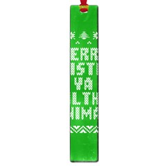 Ugly Christmas Ya Filthy Animal Large Book Marks by Onesevenart