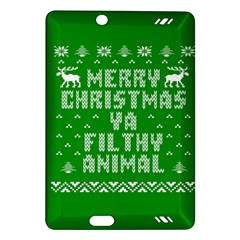 Ugly Christmas Ya Filthy Animal Amazon Kindle Fire Hd (2013) Hardshell Case by Onesevenart