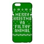 Ugly Christmas Ya Filthy Animal Apple iPhone 6 Plus/6S Plus Hardshell Case