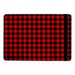 Lumberjack Plaid Fabric Pattern Red Black Samsung Galaxy Tab Pro 10.1  Flip Case