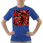 Red artistic design Dark T-Shirt
