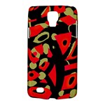 Red artistic design Galaxy S4 Active
