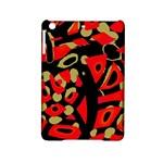 Red artistic design iPad Mini 2 Hardshell Cases
