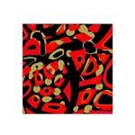 Red artistic design Satin Bandana Scarf